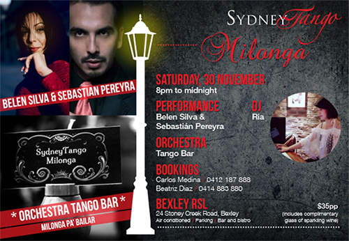 SydneyTango November milonga