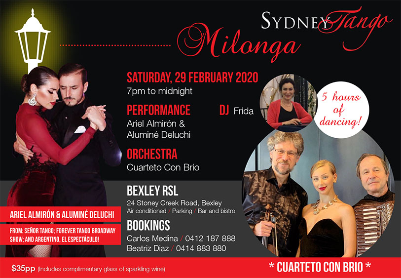 SydneyTango February Milonga
